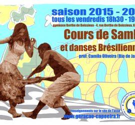 flyer_samba_geracao capoeira grenoble